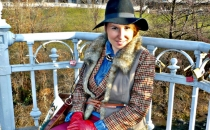CRISTINA S. (funky layered outfit)