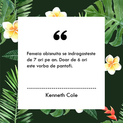 Kenneth Cole_blog fashion Bacau_Underwear Quotes